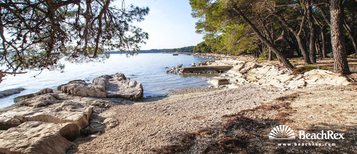 Croatia - Dalmatia  Zadar -  Pakoštane - Pine beach