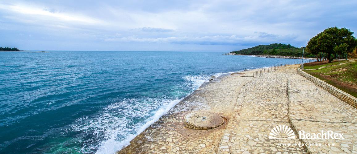 Hrvatska - Istra -  Vrsar - Plaža Belvedere
