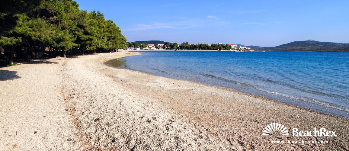 Croatia - Dalmatia  Šibenik -  Pirovac - Beach Starine