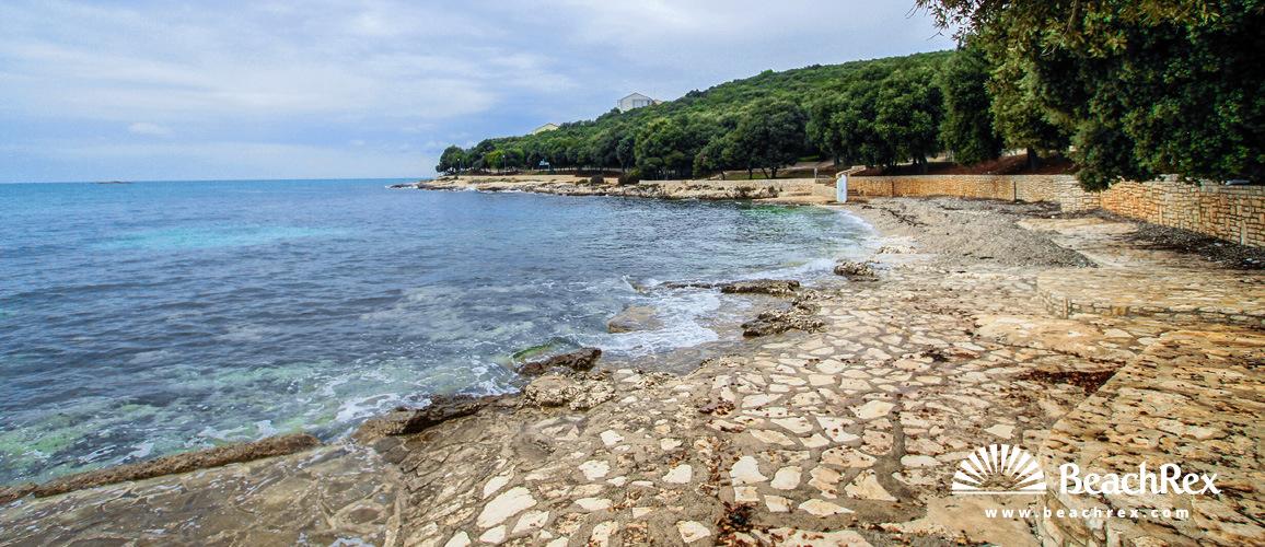 Croatia - Istra -  Vrsar - Beach Porto Sole
