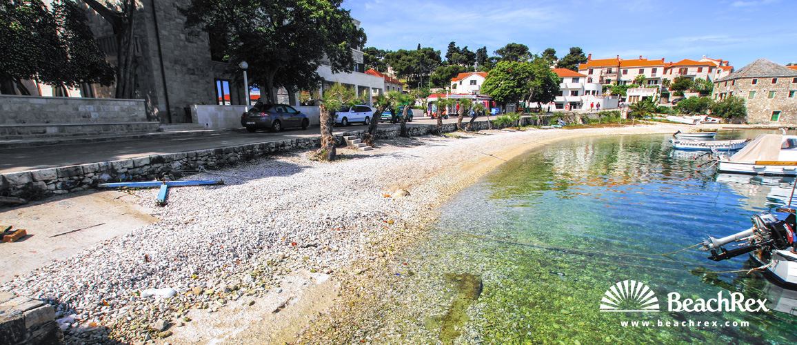 Croatia - Dalmatia  Split - Island Brač -  Postira - Beach Porat