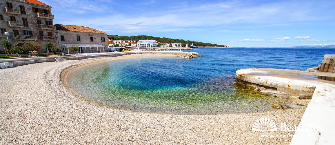 Hrvatska - Dalmacija  Split - Otok Brač -  Postira - Plaža Rota