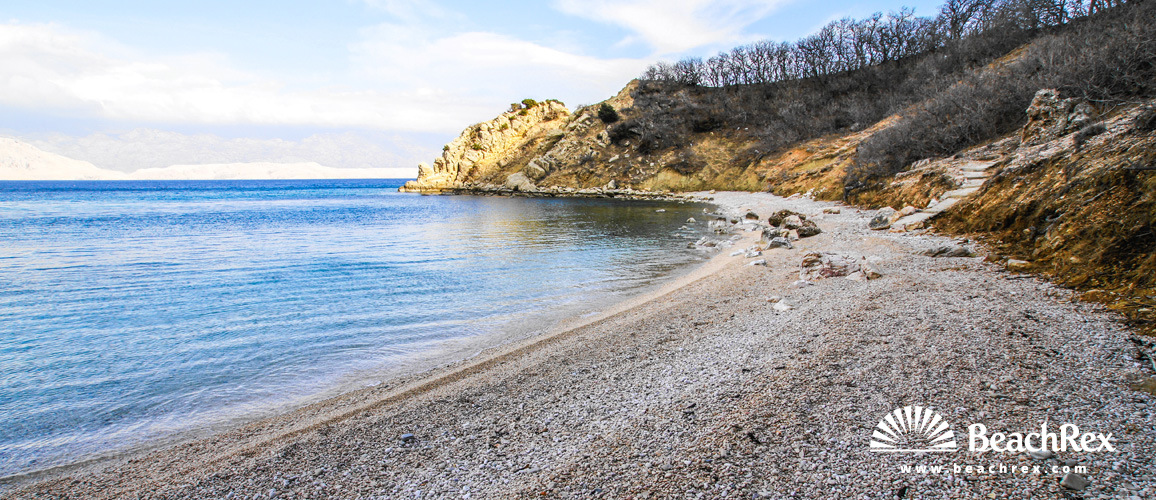 Croatia - Dalmatia  Zadar - Island Pag -  Pag - Beach Dubrava