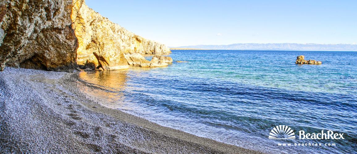 Croatia - Kvarner - Island Cres -  Belej - Beach Koromačna