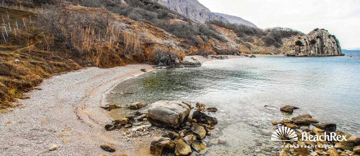 Croatia - Dalmatia  Zadar - Island Pag -  Pag - Beach Delfinka