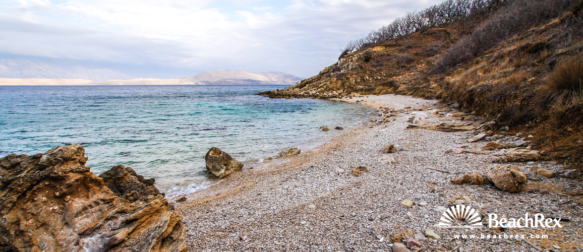 Croatia - Dalmatia  Zadar - Island Pag -  Pag - Beach Klara