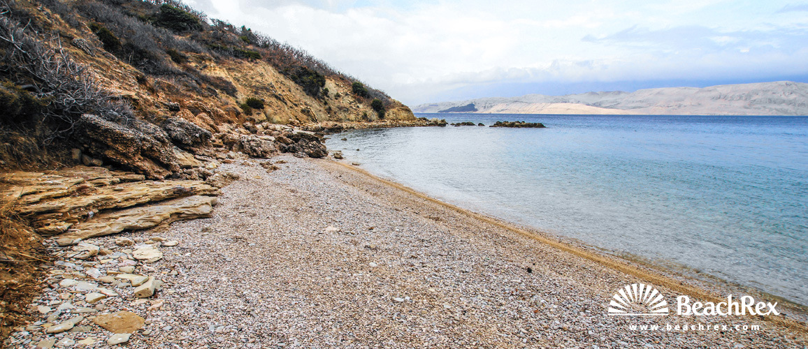 Croatia - Dalmatia  Zadar - Island Pag -  Pag - Beach Tihana