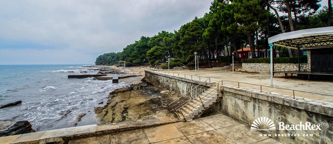 Croatia - Istra -  Bašanija - Beach Pineta