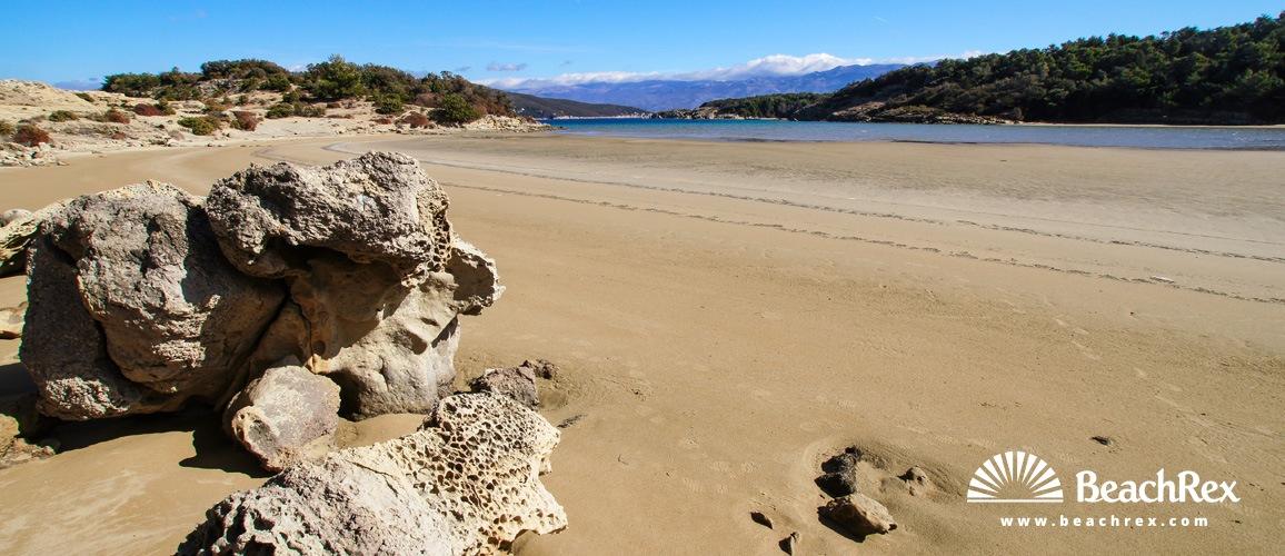 Croatia - Kvarner - Island Rab -  Lopar - Beach Sturić