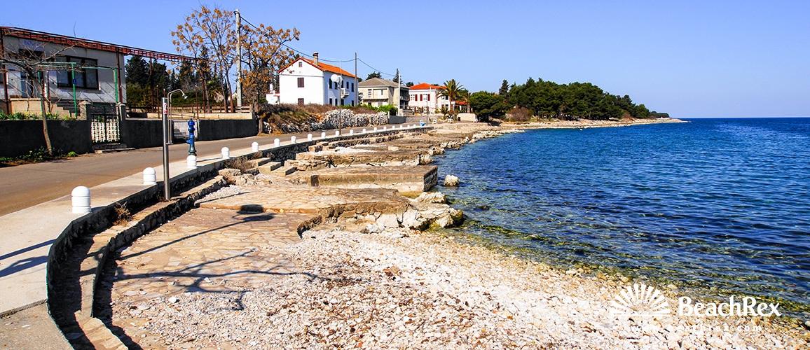 Hrvatska - Dalmacija  Zadar - Otok Ugljan -  Ugljan - Plaža Čeprljanda