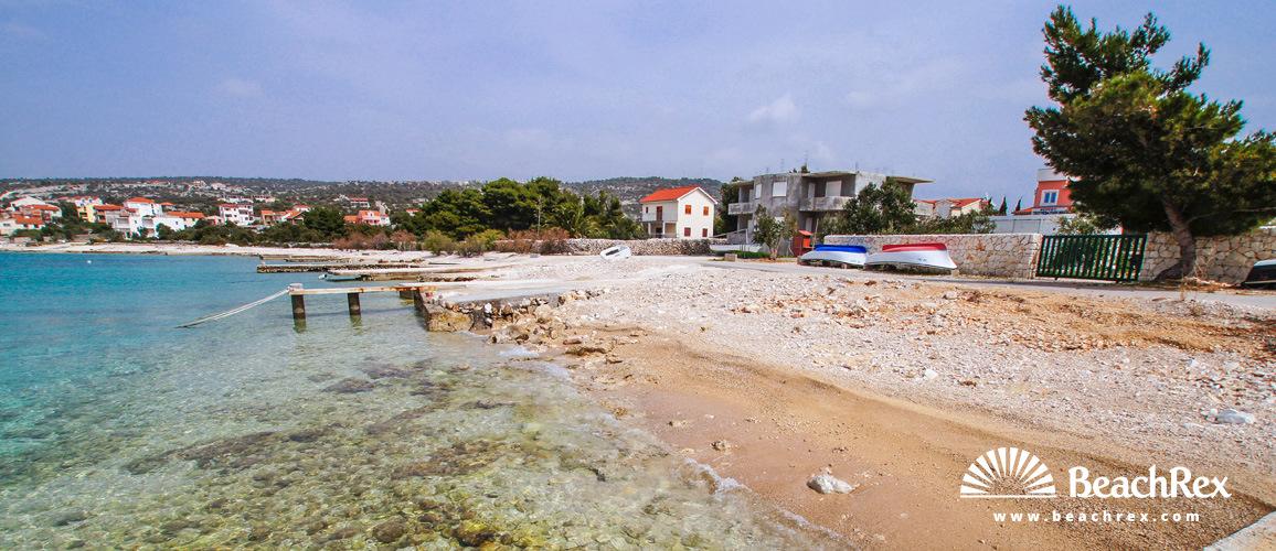 Croatia - Dalmatia  Split -  Sevid - Beach Sičenica