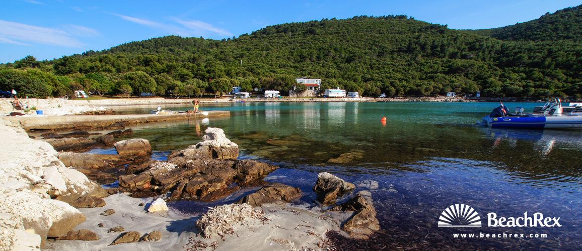 Croatia - Dalmatia  Split - Island Hvar -  Sućuraj - Beach Mlaska