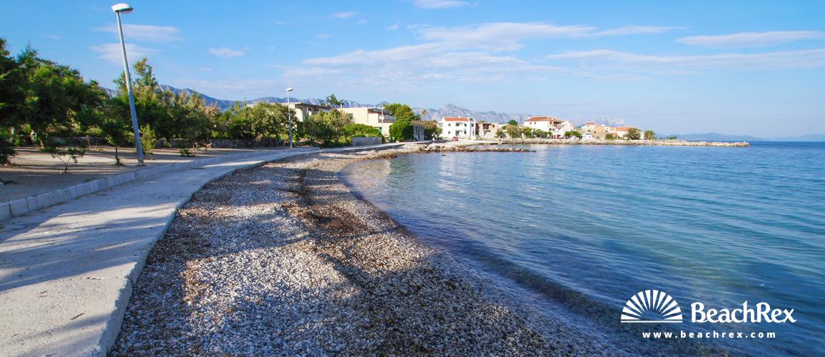 Croatia - Dalmatia  Split - Island Hvar -  Sućuraj - Beach Česminica