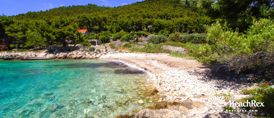 Croatia - Dalmatia  Dubrovnik - Island Korčula -  Prižba - Beach Izmeta
