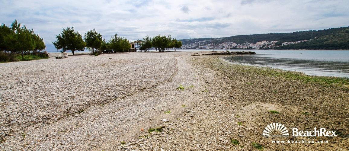 Croatia - Dalmatia  Split -  Trogir - Beach Pantana