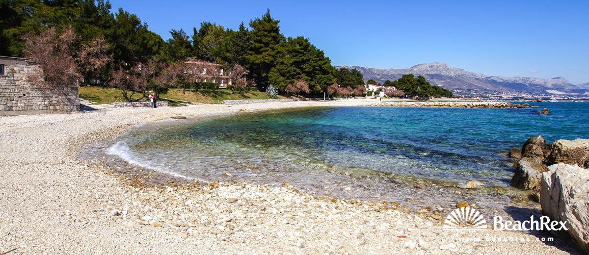 Croatia - Dalmatia  Split -  Kaštel- Štafilić - Beach Resnik