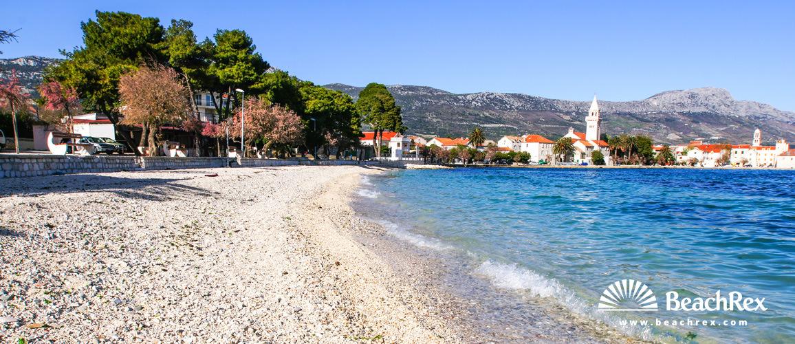Croatia - Dalmatia  Split -  Kaštel Štafilić - Beach Gabine