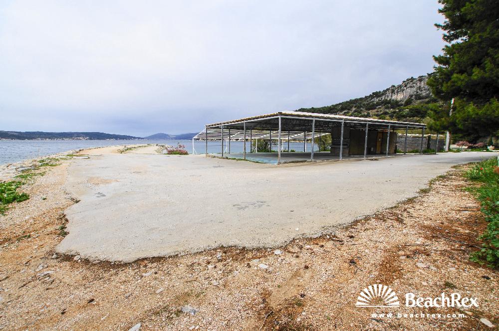 Croatia - Dalmatia  Split -  Split - Beach Kašjuni