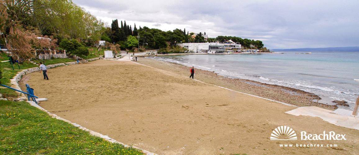 Croatia - Dalmatia  Split -  Split - Beach Bačvice