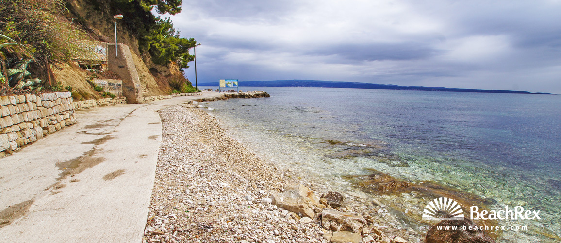 Croatia - Dalmatia  Split -  Split - Beach Firule