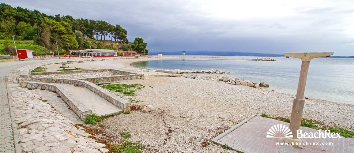 Croatia - Dalmatia  Split -  Split - Beach Trstenik