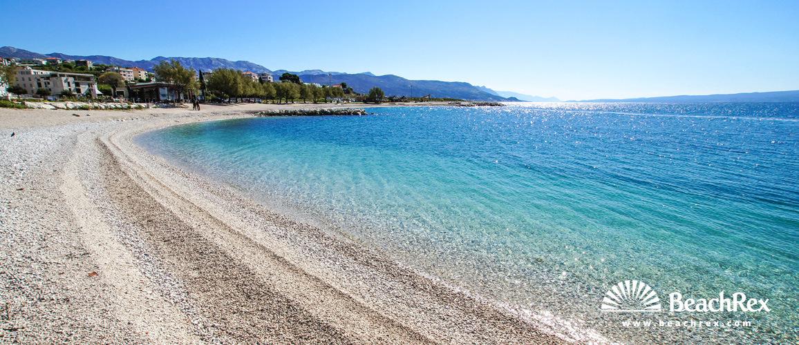 Croatia - Dalmatia  Split -  Split - Beach Žnjan