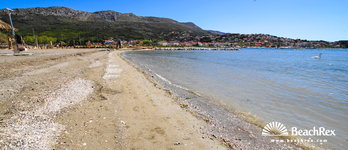 Croatia - Dalmatia  Split -  Stobreč - Beach Stobreč