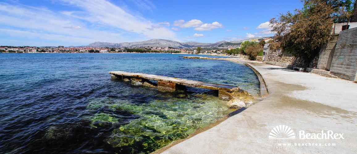 Croatia - Dalmatia  Split -  Podstrana - Beach Strožanac
