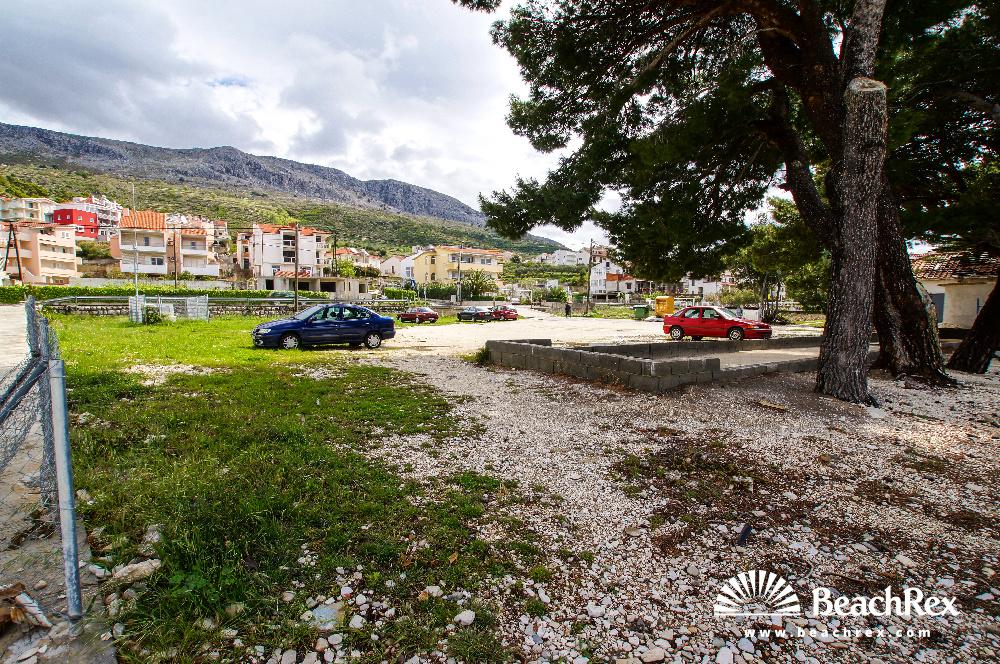 Croatia - Dalmatia  Split -  Podstrana - Beach Mutogras