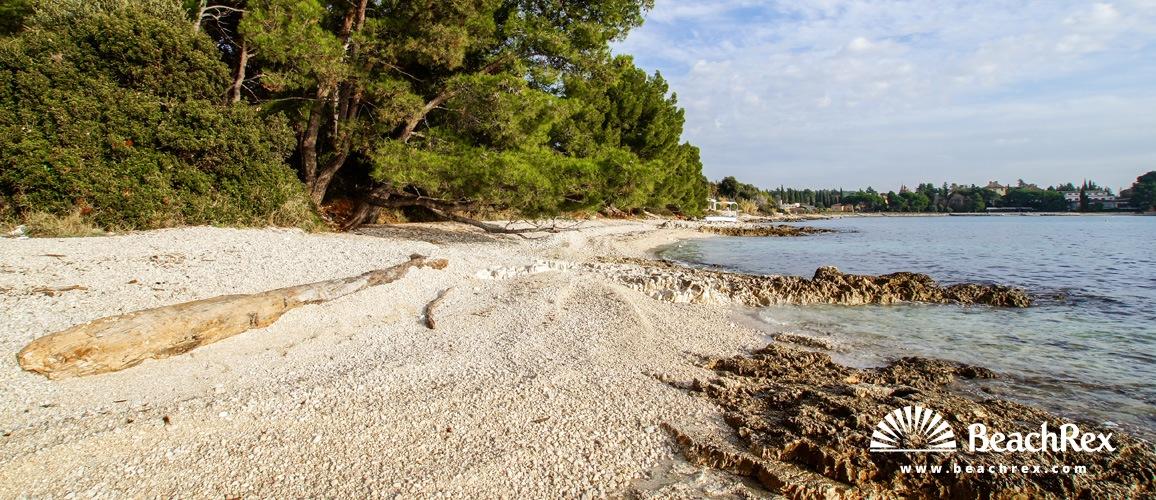 Hrvaška - Istra -  Rovinj - Plaža Valdaliso