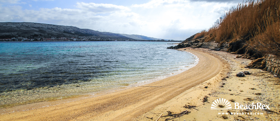 Croatia - Dalmatia  Zadar - Island Pag -  Pag - Beach Vodice