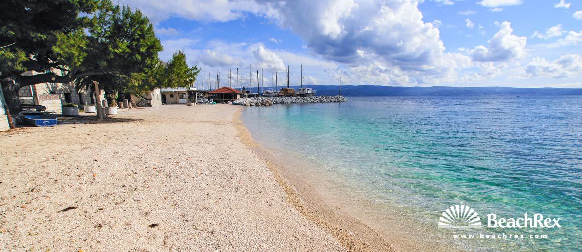 Croatia - Dalmatia  Split -  Jesenice - Beach Sumpetar