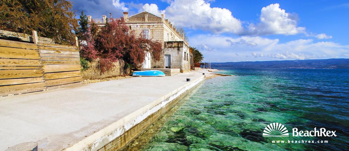 Croatia - Dalmatia  Split -  Dugi Rat - Beach Mali Rat