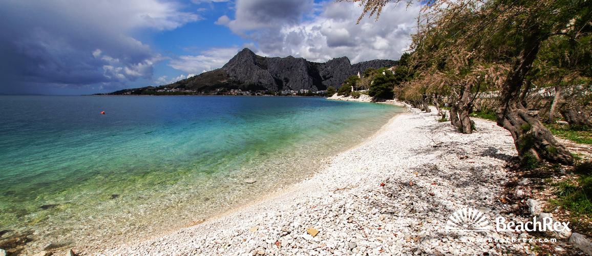 Croatia - Dalmatia  Split -  Omiš - Beach Brzet