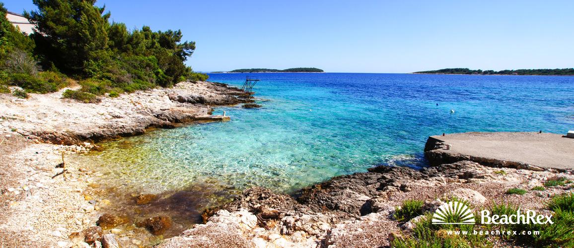 Croatia - Dalmatia  Dubrovnik - Island Korčula -  Potirna - Beach Garma