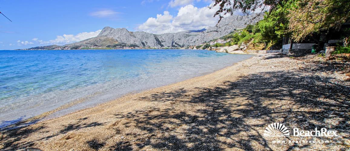 Croatia - Dalmatia  Split -  Omiš - Beach Zvizdan