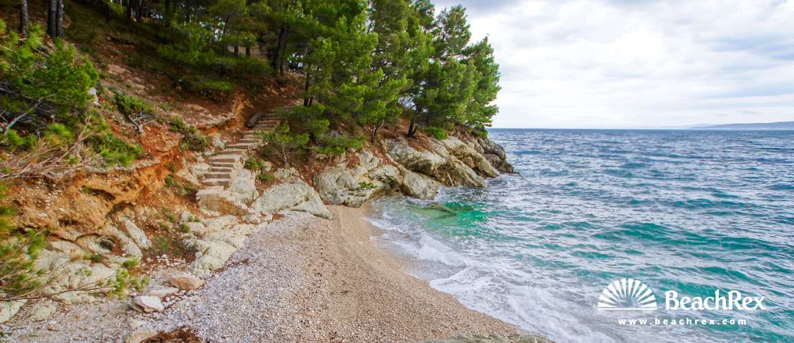 Croatia - Dalmatia  Split -  Pisak - Beach Pašnjak