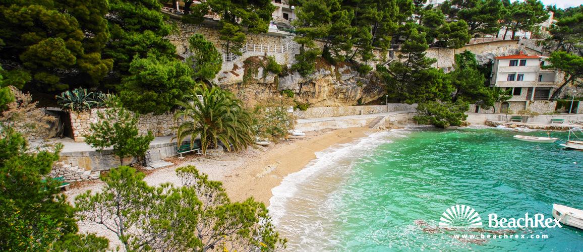 Croatia - Dalmatia  Split -  Brela - Beach Podrače