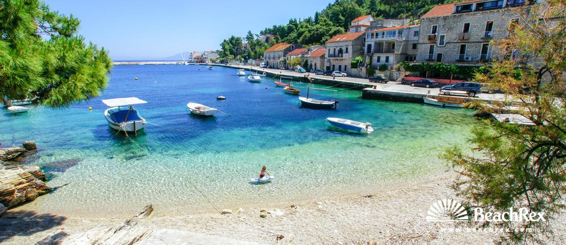 Croatia - Dalmatia  Dubrovnik - Island Korčula -  Prigradica - Beach Vanesa