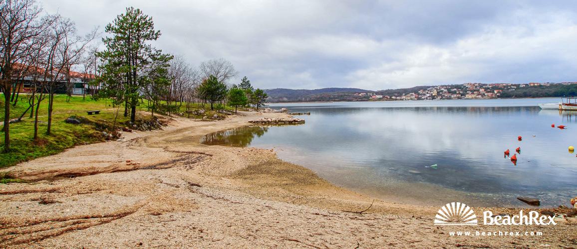 Croatia - Kvarner - Island Krk -  Soline - Beach Soline