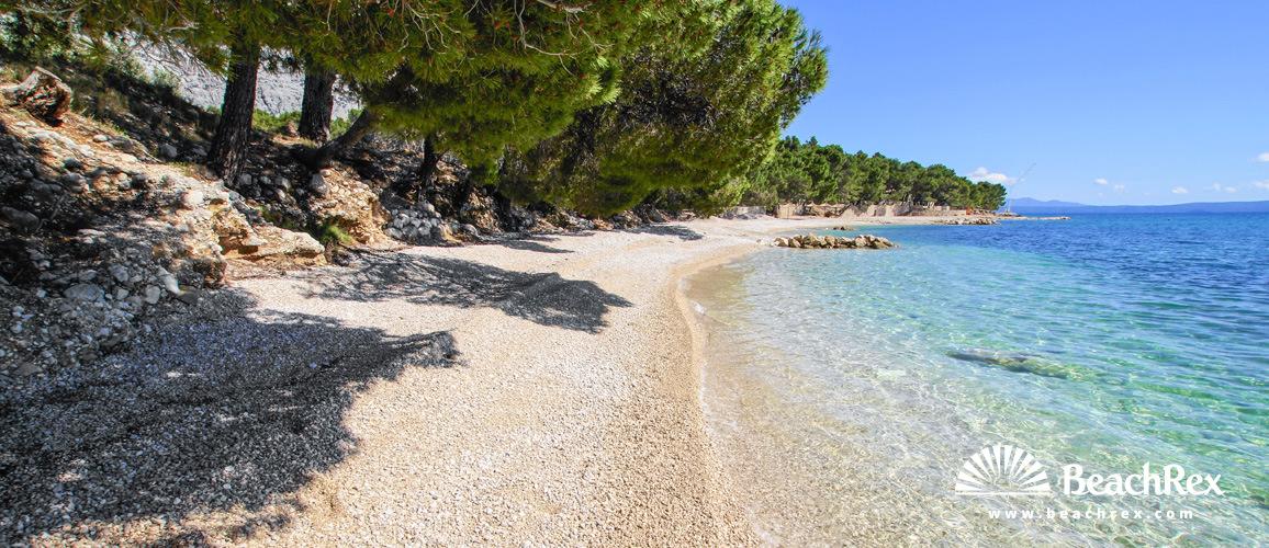Croatia - Dalmatia  Split -  Makarska - Beach Biloševac