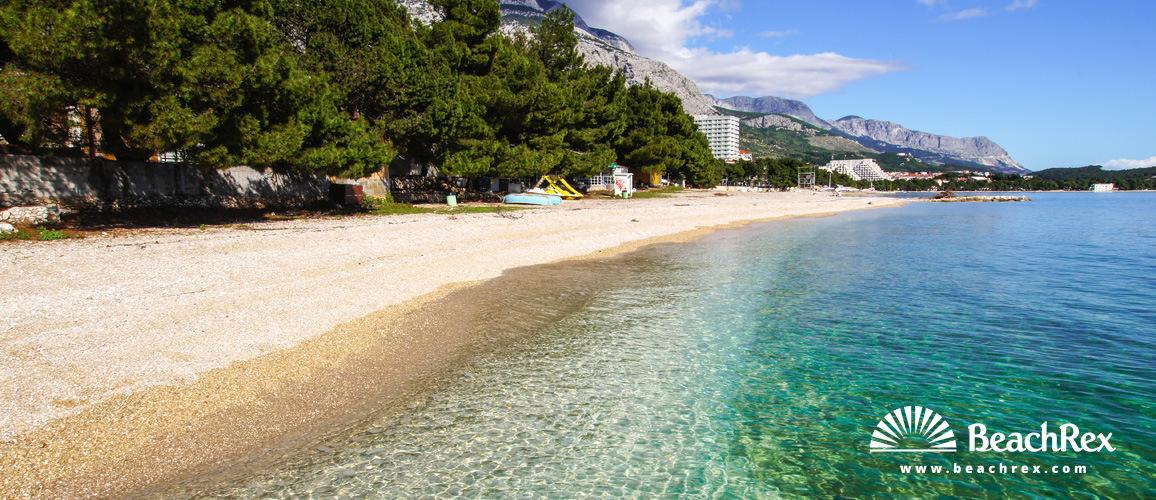 Croatia - Dalmatia  Split -  Makarska - Beach Ratac