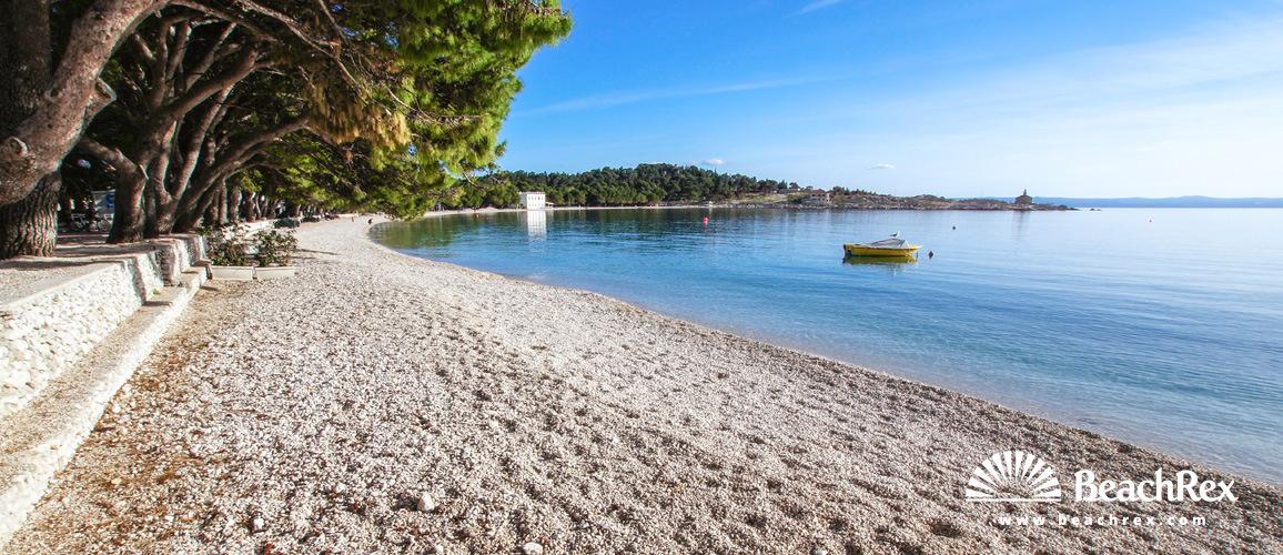 Croatia - Dalmatia  Split -  Makarska - Beach Donja Luka