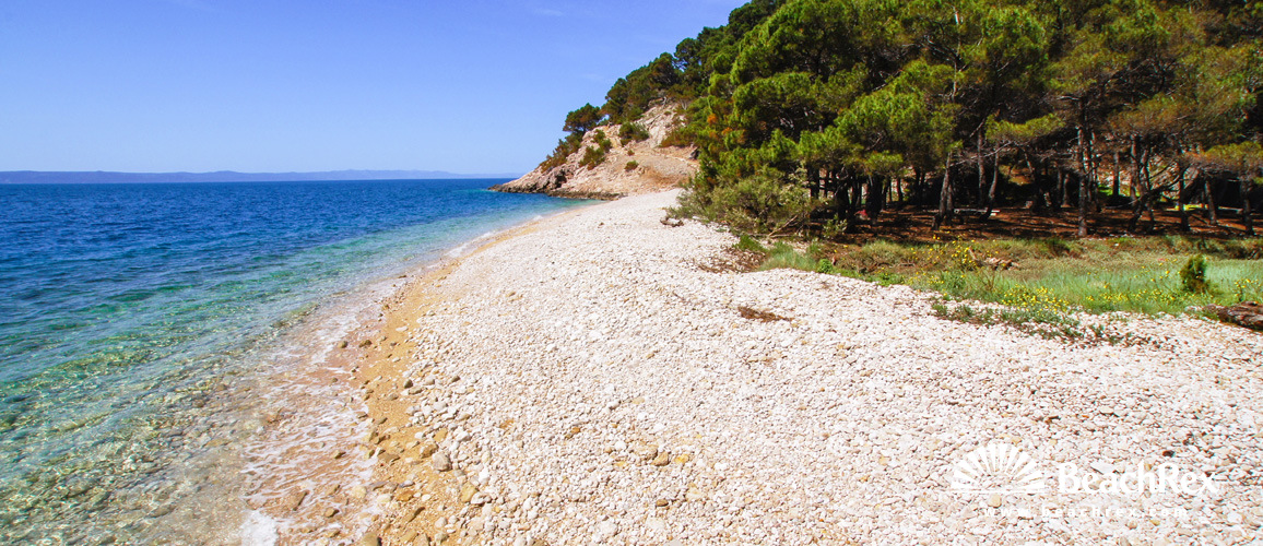Croatia - Dalmatia  Split -  Makarska - Beach Nugal