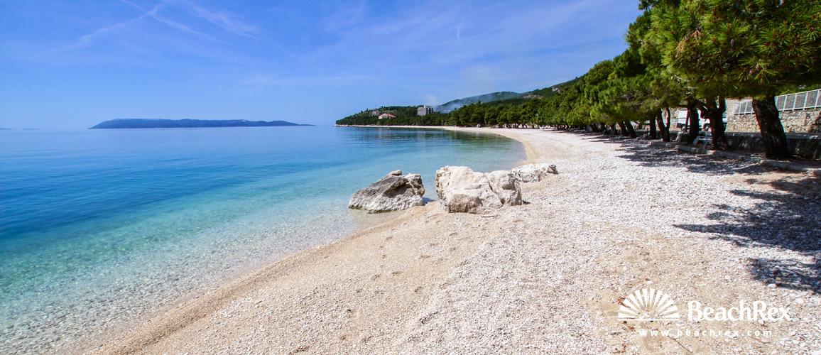 Croatia - Dalmatia  Split -  Tučepi - Beach Lučica