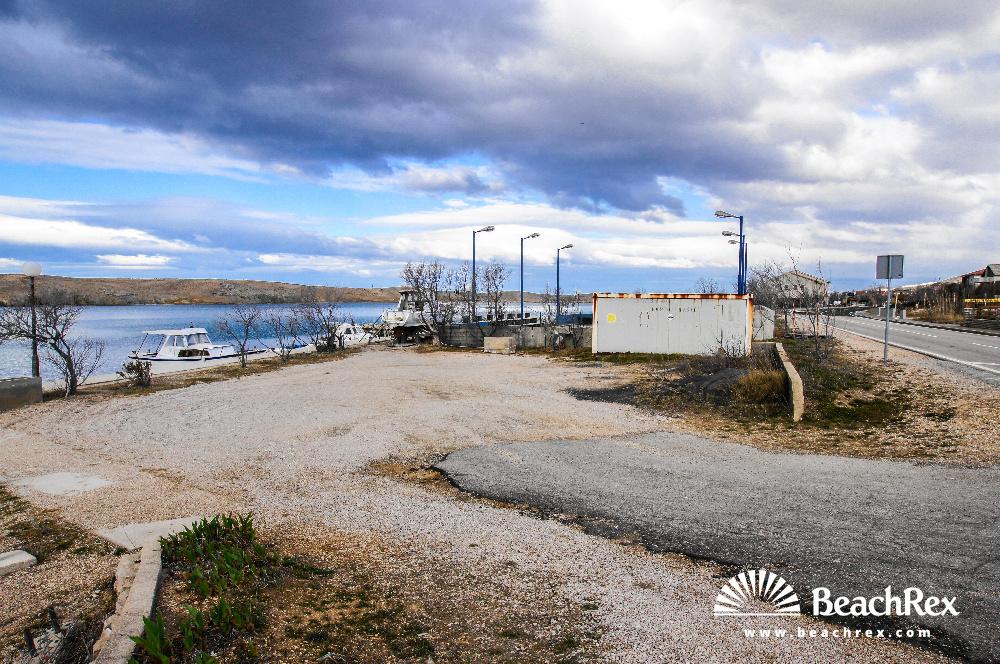 Croatia - Dalmatia  Zadar - Island Pag -  Dinjiška - Beach Dinjiška