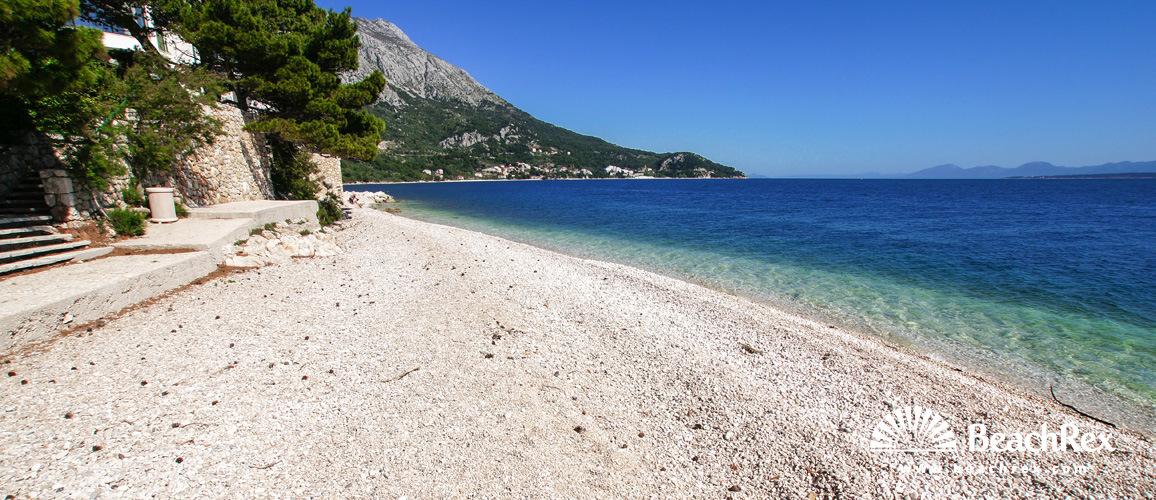 Croatia - Dalmatia  Split -  Igrane - Beach Punta