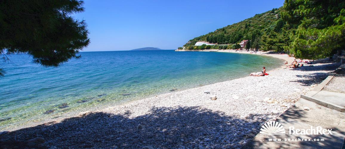 Croatia - Dalmatia  Split -  Podaca - Beach Podaca