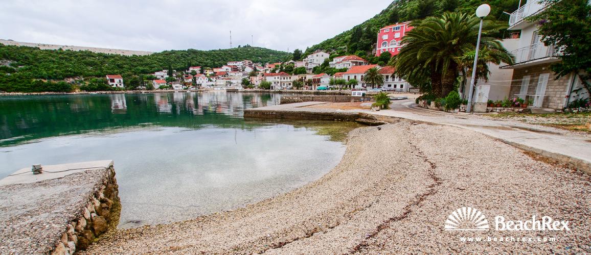 Croatia - Dalmatia  Dubrovnik -  Duboka - Beach Duboka
