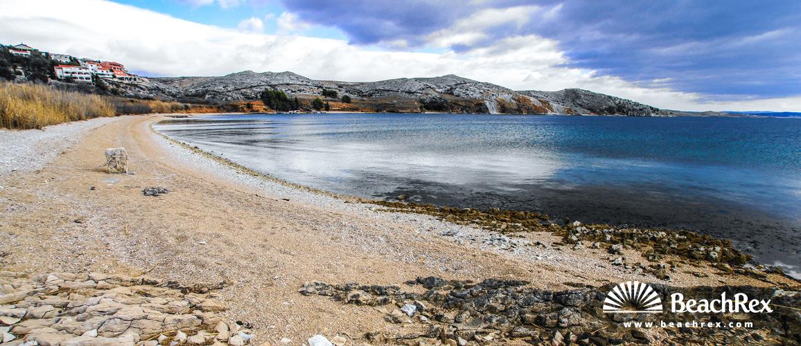 Croatia - Dalmatia  Zadar - Island Pag -  Smokvica - Beach Smokvica